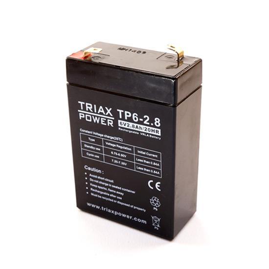 Baterija za panik lampe 6V 2.8Ah