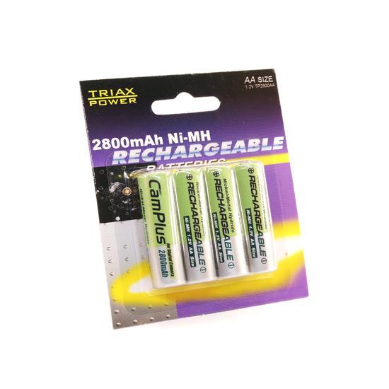 Punjive Baterije AA 2800mAh
