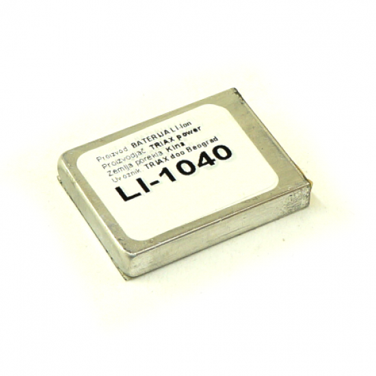 li-ion 1040mAh celija
