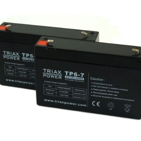 Baterije za UPS 6V 7Ah RBC18